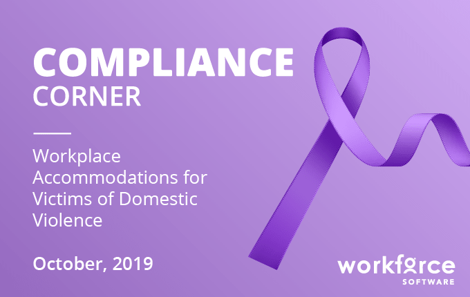 Workplace Accommodations for Victims of Domestic Violence