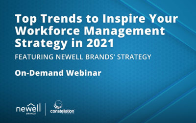 Top Trends to Inspire Your Workforce Management Strategy in 2021