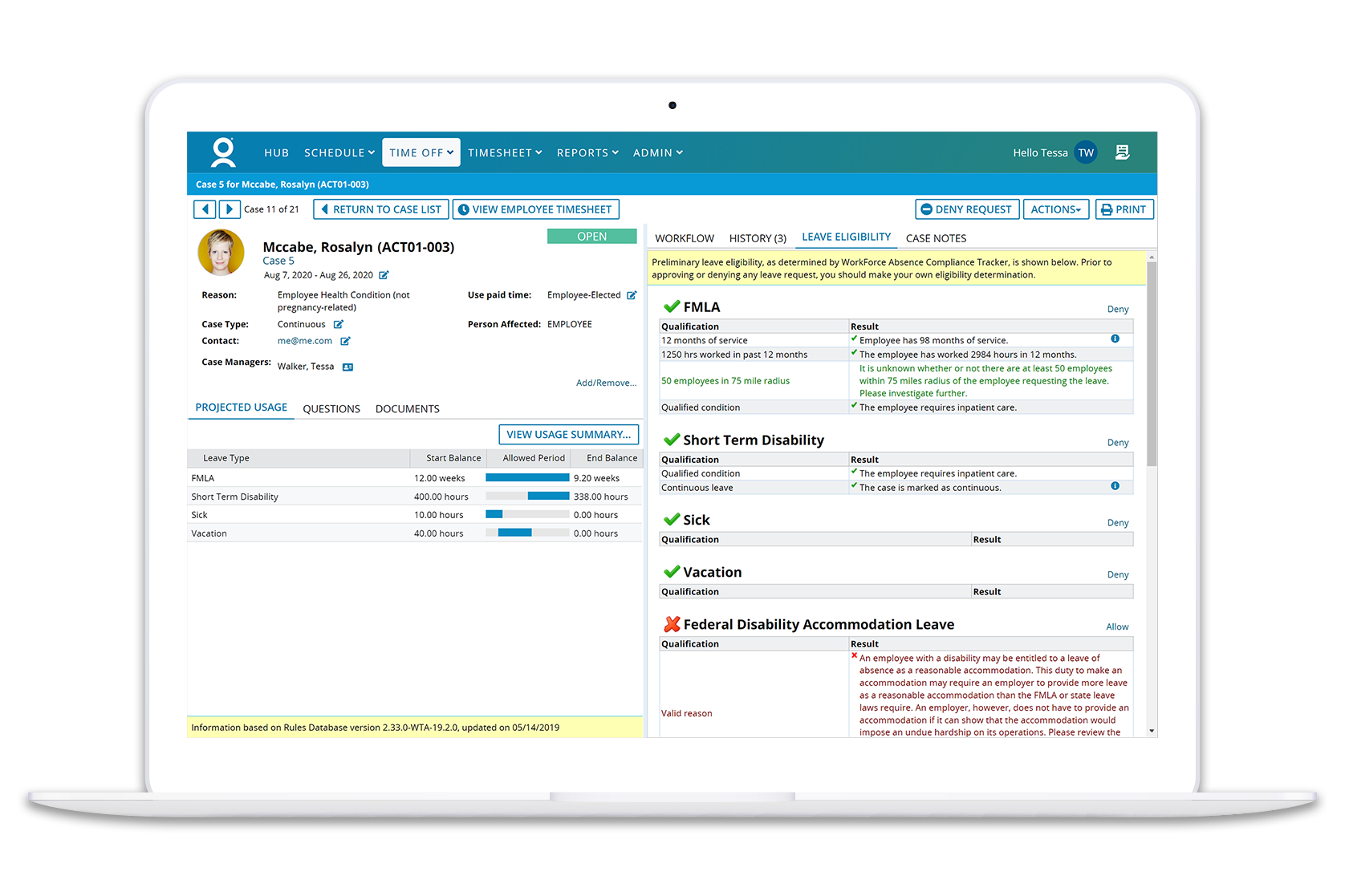 Comply Confidently with the WorkForce Suite