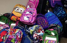 Backpack Drive Helps 41 Local Families