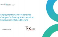 Employment Law Innovations: Key Changes Confronting North American Employers in 2019 and Beyond