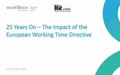 25 years on – the Impact of the European Working Time Directive