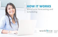 WorkForce Forecasting and Scheduling