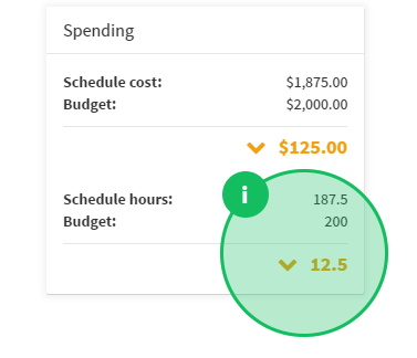 Improved budget management