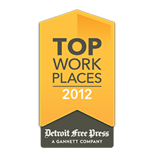 WorkForce Software Named as 2012 Top Workplace by The Detroit Free Press