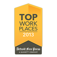 WorkForce Software Named as 2013 Top Workplace by The Detroit Free Press