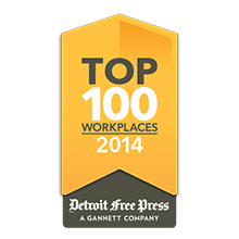 Detroit Free Press Top Workplaces 2014