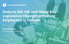 Ontario Bill 148 and Other Key Legislative Changes Affecting Employees in Canada